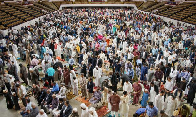 End of Ramadan celebrated with Eid al-Fitr