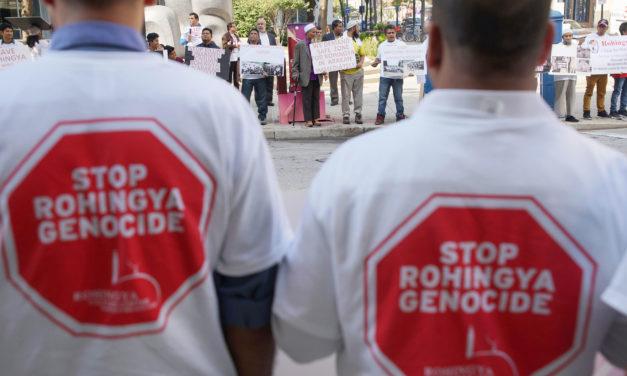 Myanmar genocide in focus as local Rohingya Muslims plead for help