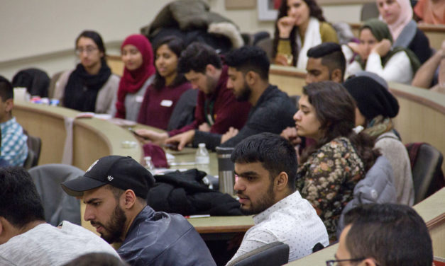 Muslim university students from across the region forge bonds at Madison event