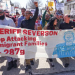 Thousands of protestors march against Waukesha's anti-immigrant policy and enforcement