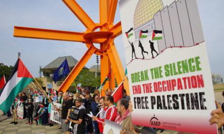 Milwaukee joins worldwide protests to condemn Israeli massacre of Palestinian civilians