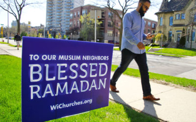 Wisconsin Churches show support for Muslim Neighbors during Ramadan