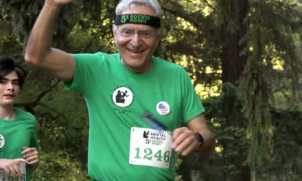 Wisconsin's Dr. Adel Korkor runs 37th consecutive 5K to raise awareness for mental health