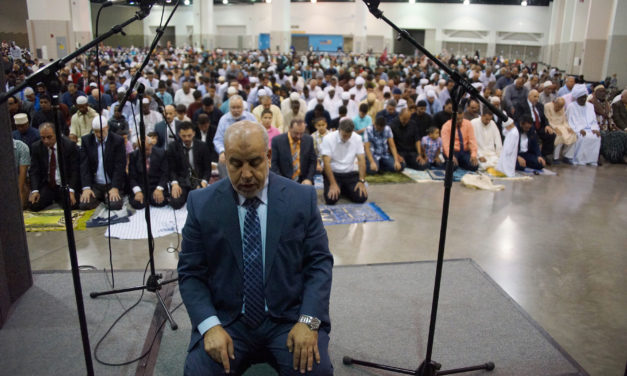 Milwaukee celebrates Eid Al-Adha with a morning community prayer