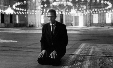 Malcolm X on his 1964 pilgrimage to Makkah