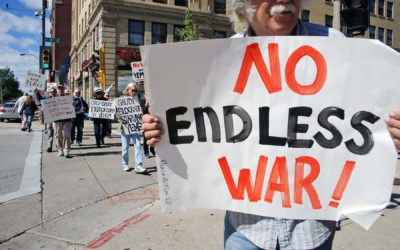 Milwaukee activists call for an end to America's undeclared war in Yemen