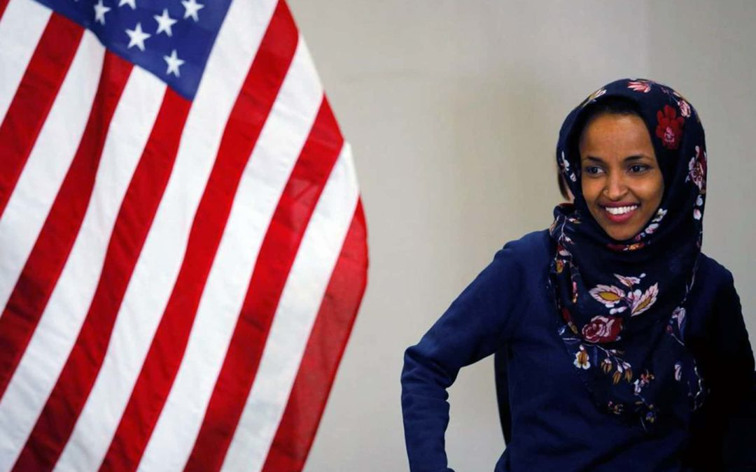 First two Muslim women in Congress, a Somali refugee and a Palestinian immigrant