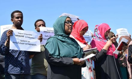 Without enough time to pray, Muslim Amazon workers rally for fair treatment