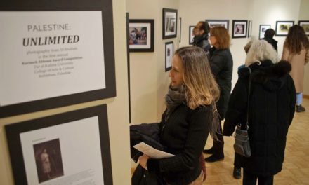 "Photo exhibit ""Palestine: Unlimited"" shares the hopes and courage from a traumatized culture"