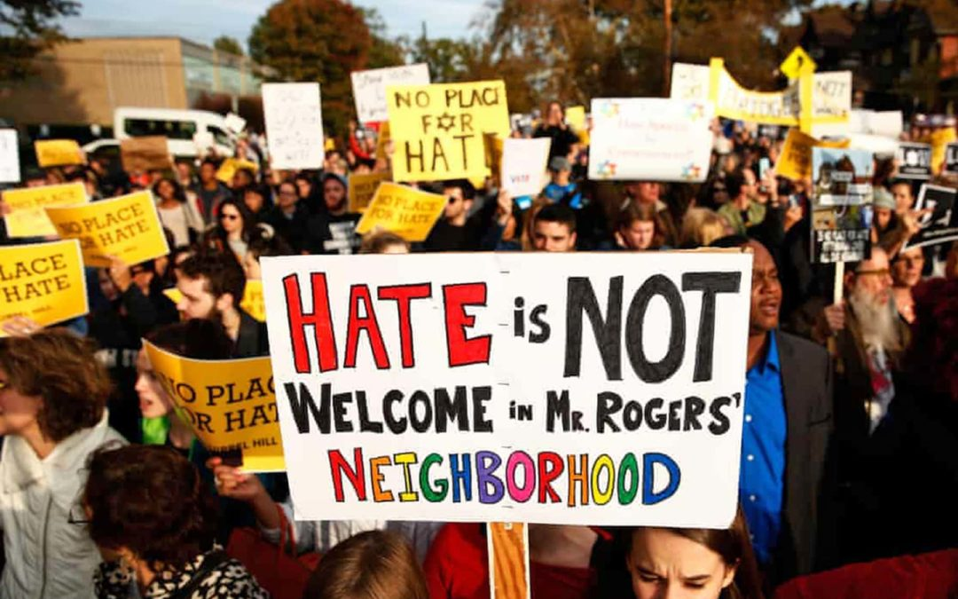 Many victims do not report hate crimes for fear of further attacks