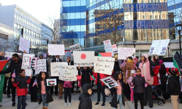 Solidarity protest presents local voices to raise awareness against brutal Sudan dictatorship