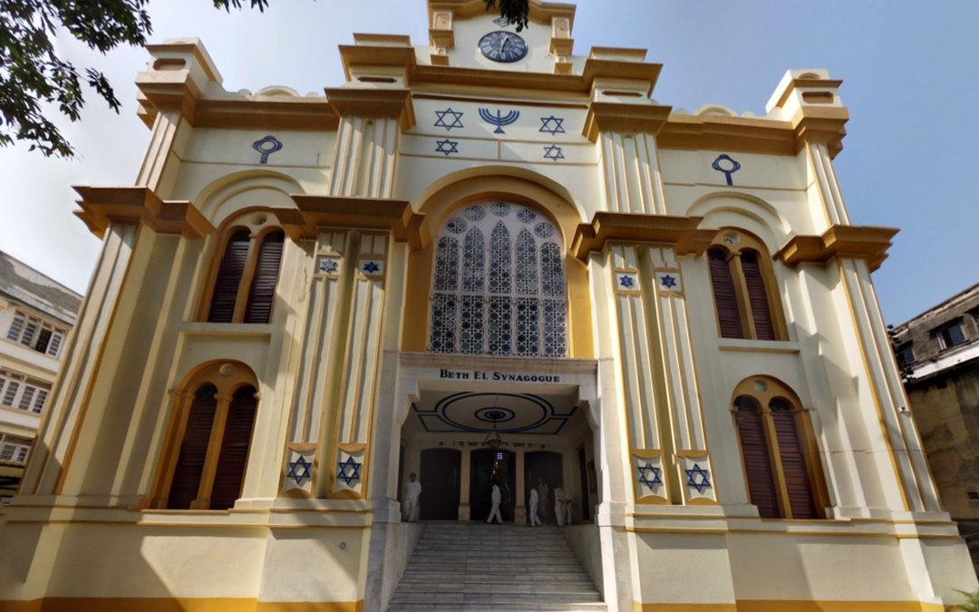 Muslim Gatekeepers Look After Synagogue