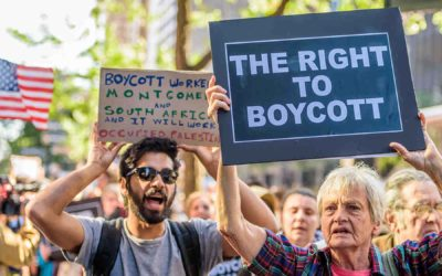 As Israel influences Congress, American's First Amendment Right to boycott hangs in jeopardy