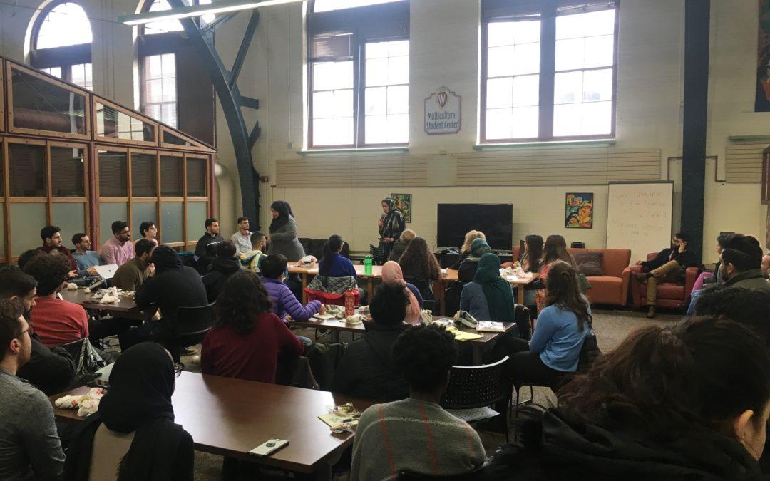 Muslim Students Host Vigil for New Zealand Victims