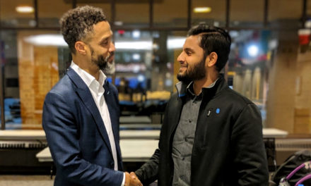 Mahmoud Abdul-Rauf, former NBA player brings inspiring story to Marquette University