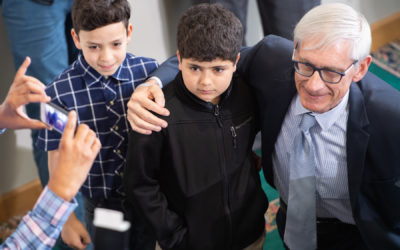 Governor Evers Visits ISM During Ramadan