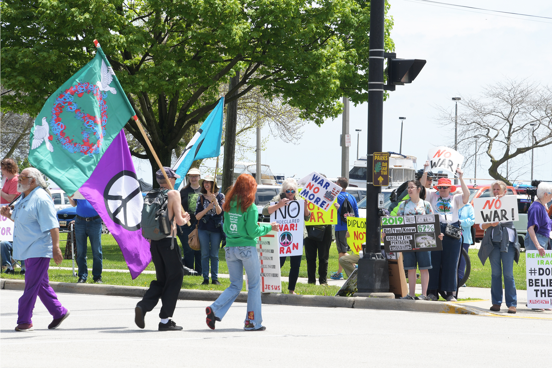 Lakefront Rally Calls for No War with Iran | Wisconsin Muslim Journal