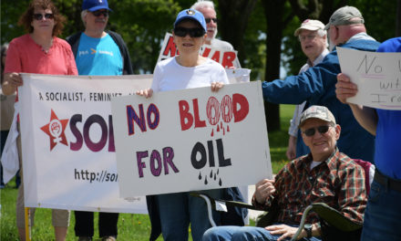 Lakefront Rally Calls for No War with Iran