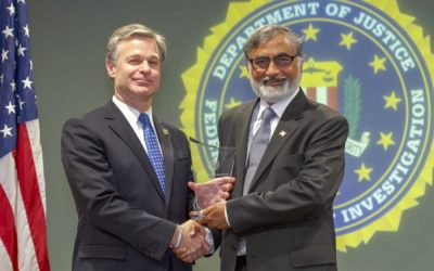 Madison's Masood Akhtar honored with FBI's National Director's Community Leadership Award