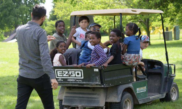 Photo Essay: Lynden Sculpture Garden welcomes families for World Refugee Day