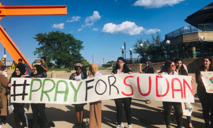 Milwaukee Protestors Seek to Educate Public on Crisis in Sudan
