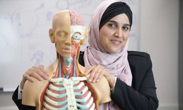 Determination and Support Help New Professor Achieve Dream