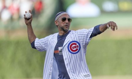 Muslim community leader throws out first pitch at Cubs game as team continues outreach