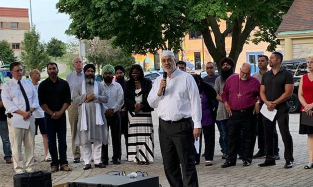 Hundreds Gather in Milwaukee to Condemn Mass Shootings in El Paso and Dayton