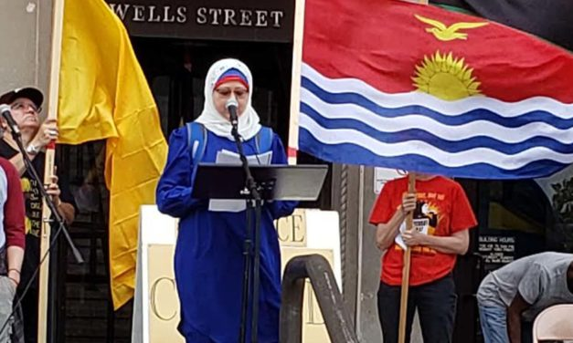 Wisconsin Green Muslims Joins Call for Action at Saturday Climate Rally