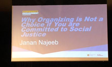 Janan Najeeb Speaks to Hundreds at Marquette University Symposium