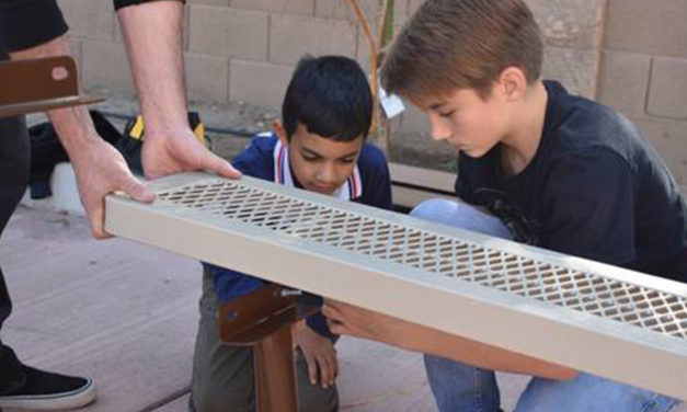 Jewish, Muslim youths in Modesto build understanding, friendships and picnic tables