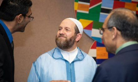 He earned a medical degree then learned his calling was to teach Islam