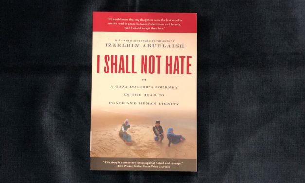 IRC Book Review: I Shall Not Hate