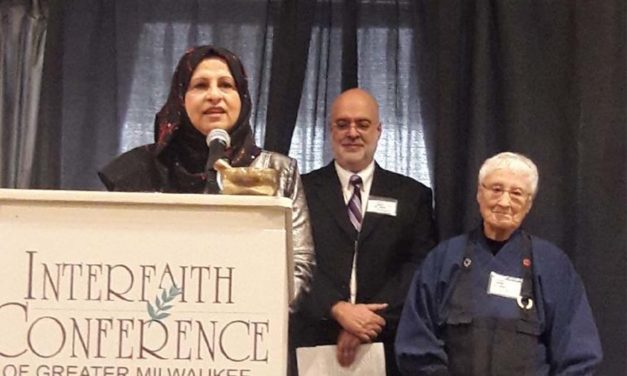 Janan Najeeb receives prestigious Frank Zeidler award
