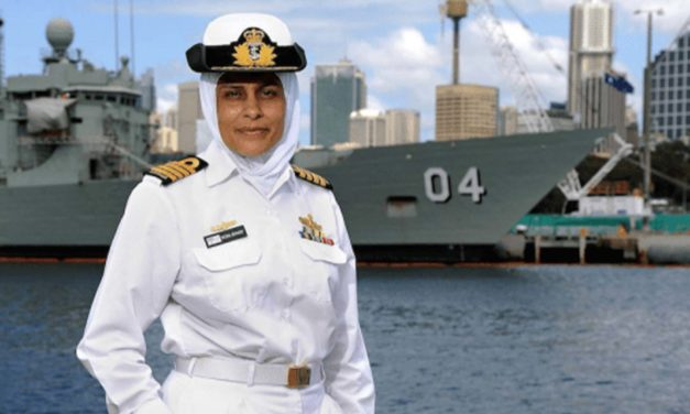 Breaking Stereotypes: Mona Shindy is Australia's First Muslim Navy Captain and Engineer