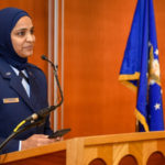 Airman becomes the service's first female Muslim chaplain candidate