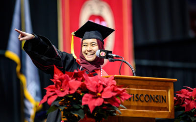 Viral video: Student commencement speaker's address tops 3.5M views