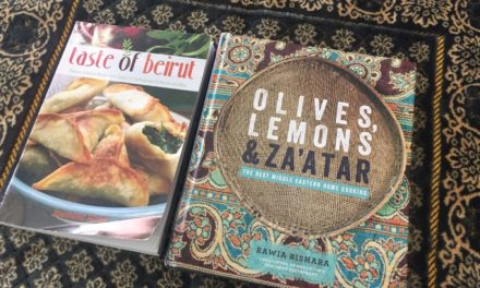 IRC Book Review: Taste of Beirut and Olives, Lemons & Za'atar