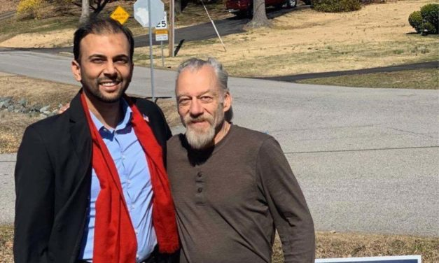 Muslim candidate responds to hateful message with kindness