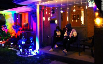 Ramadan lights challenge: Muslim community of Michigan brings back holiday spirit