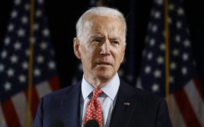 Top Muslim political group backs Biden