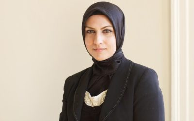 Muslim woman becomes Britain's first hijab-wearing judge