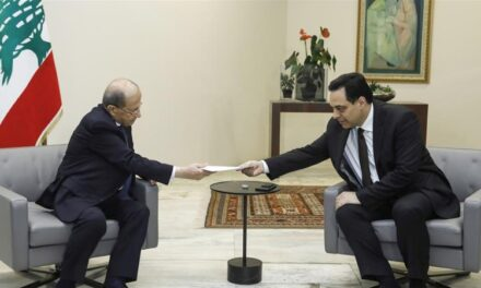 Lebanon president accepts gov't resignation after Beirut blast