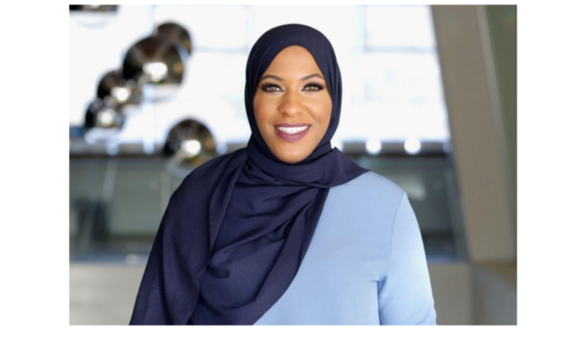 Ibtihaj Muhammad says voting is 'your opportunity to not only show up for yourself, but also your community'
