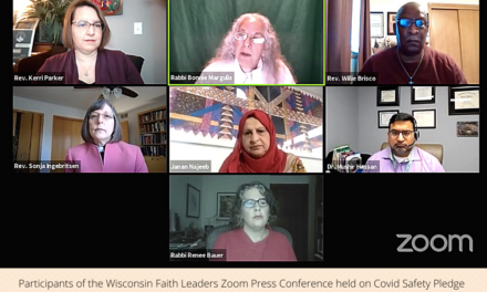 Wisconsin Faith Leaders Hold Press Conference on Covid Safety Pledge