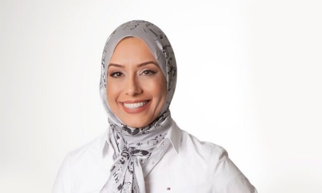 Fatima Hussein, the first Muslim woman to be nominated in a council election in Brazil