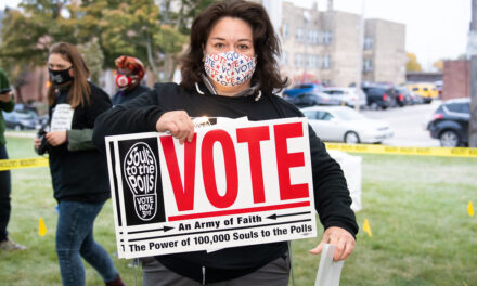 Muslim community supports Interfaith Get-Out-the-Vote Rally