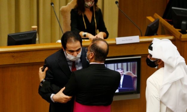 First Muslim to ever present a papal encyclical praises 'Fratelli Tutti'