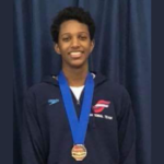 Champion swimmer and Olympic hopeful Ziyad Saleem's optimism is rooted in faith