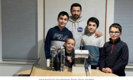From Legos to Medical Ventilators. A Wayne Family's Quarantine Achievement